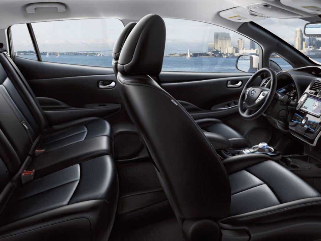 Galería de fotos del Nissan Leaf (1)