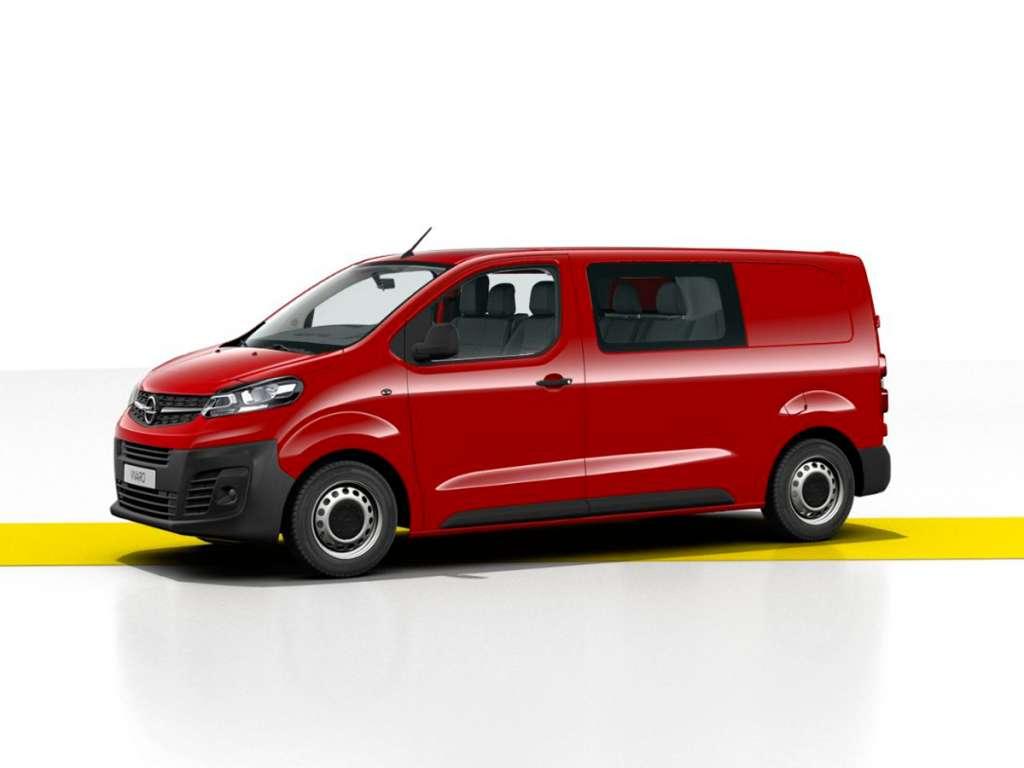 Opel Novo Vivaro Cargo Cabine Dupla
