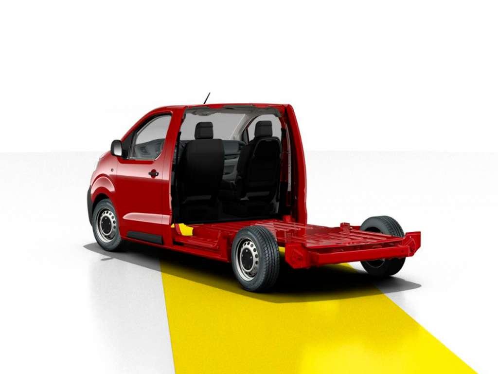 Opel Novo Vivaro Plataforma