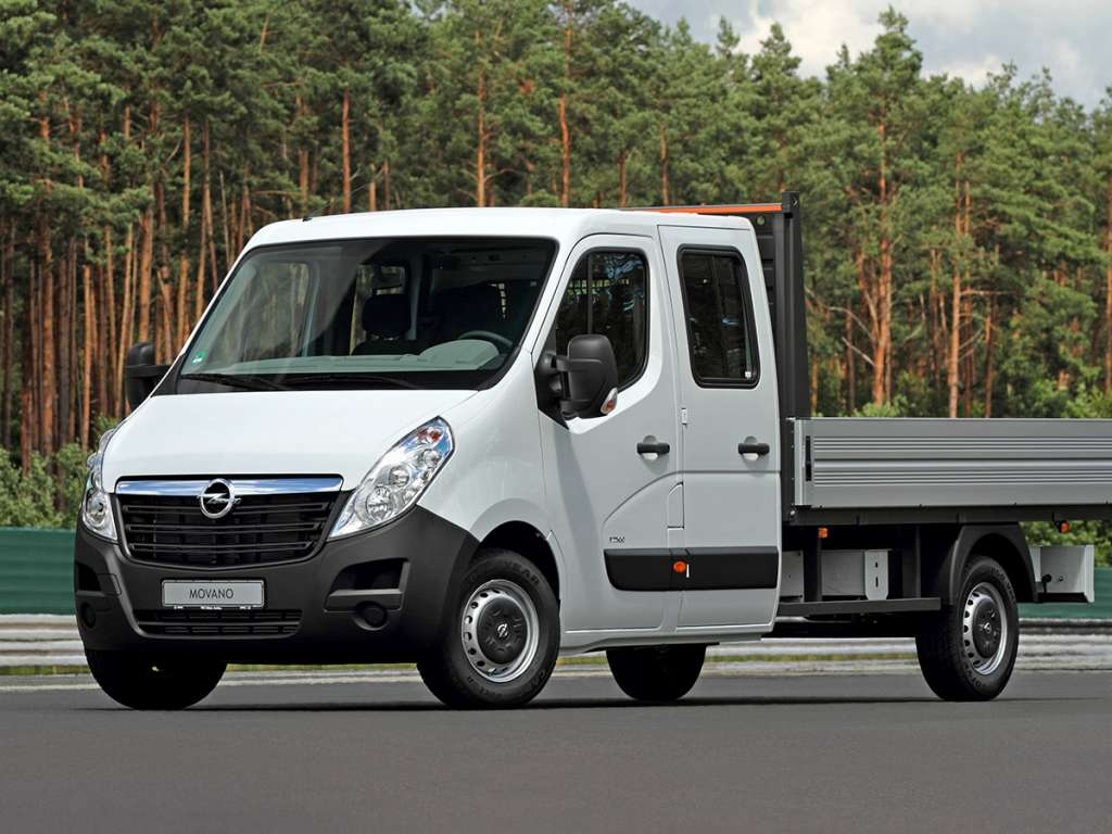Opel Movano Van Chassis Cabine Dupla