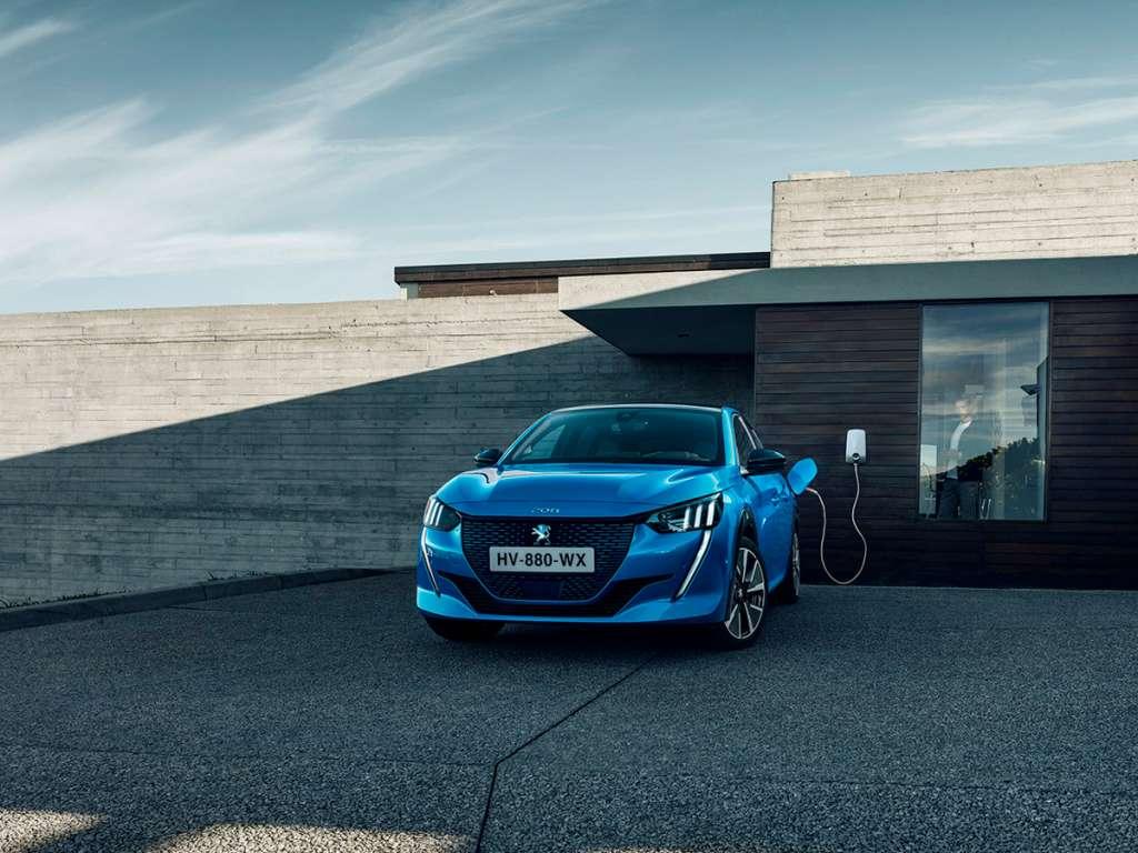 Galería de fotos del Peugeot Nuevo E-208 (1)