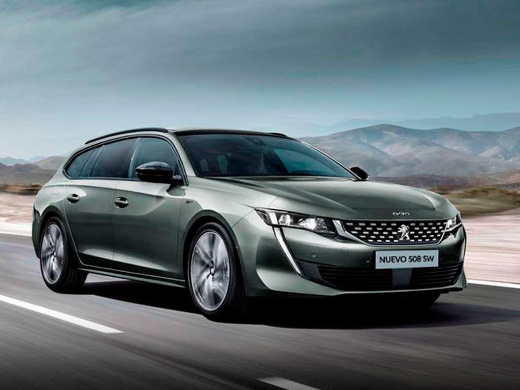 Galería de fotos del Peugeot Nuevo 508 SW (1)