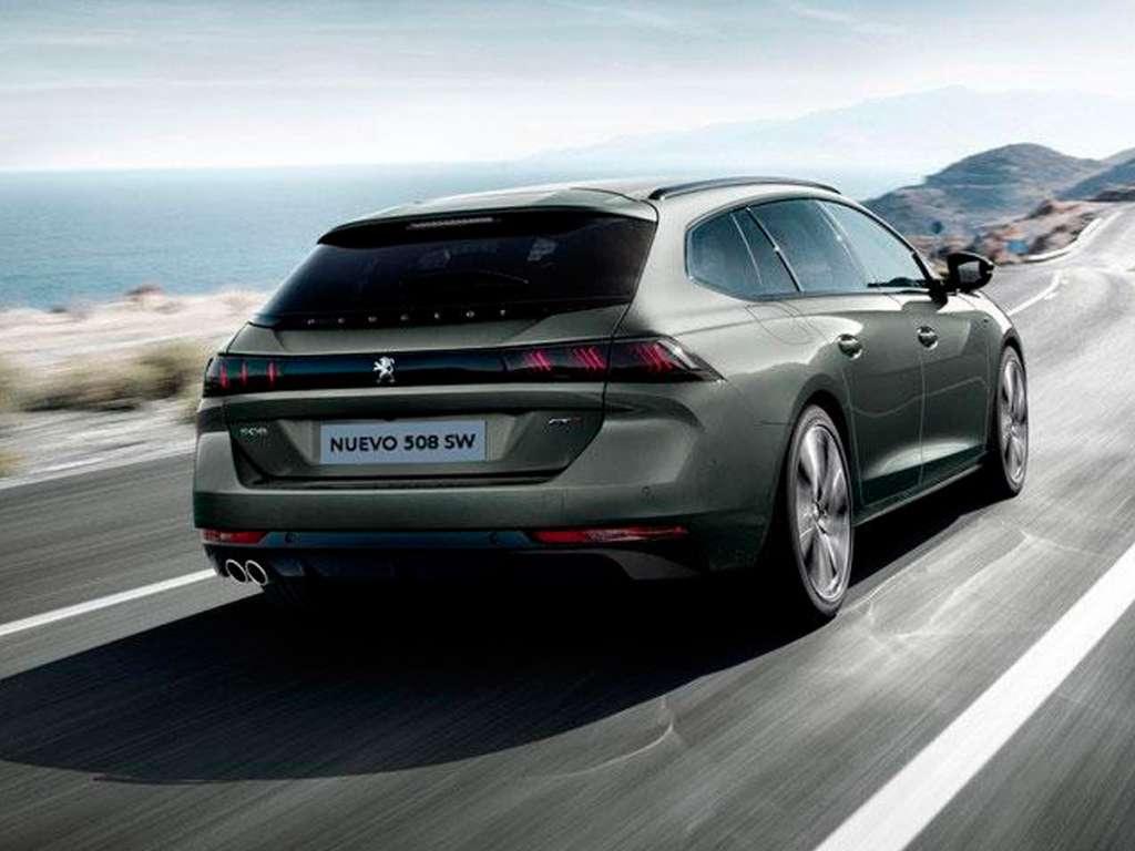 Galería de fotos del Peugeot Nuevo 508 SW (2)
