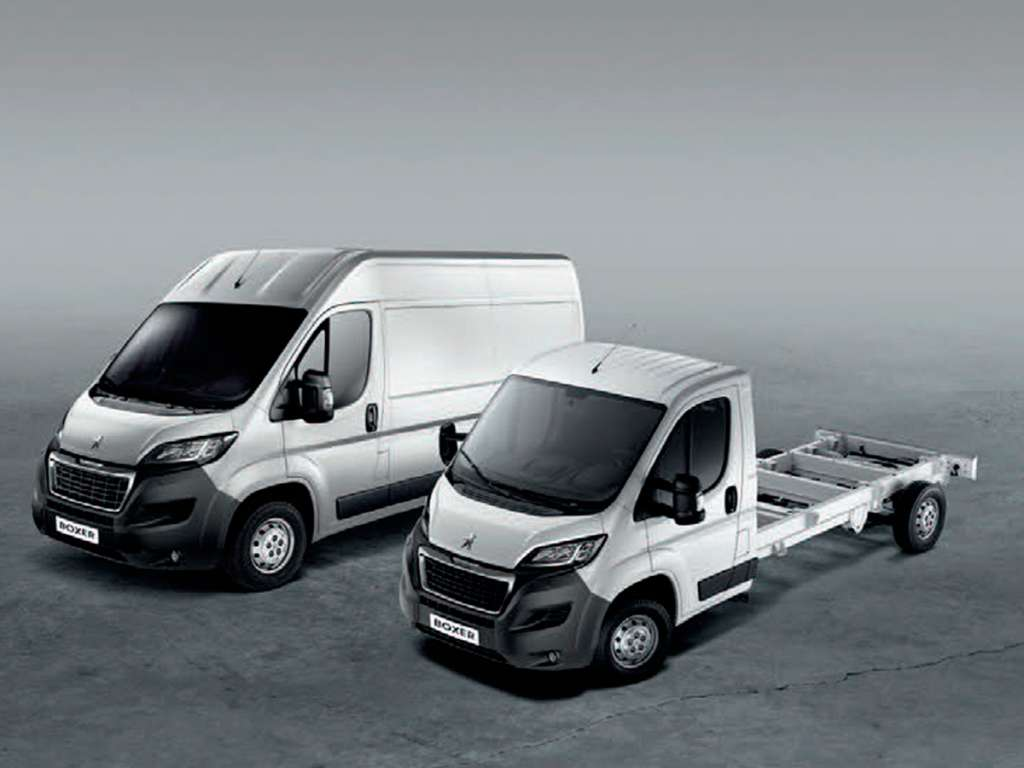 PEUGEOT Boxer Chassis Cabina Simples