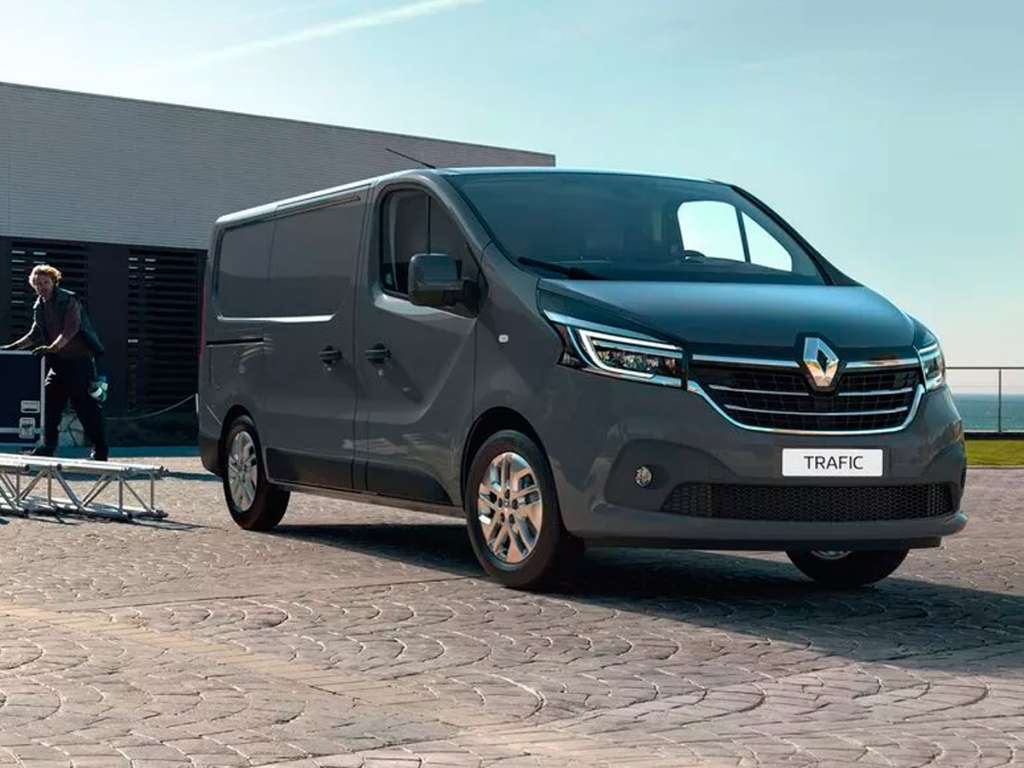 Galería de fotos del Renault Nuevo Trafic Furgón (1)