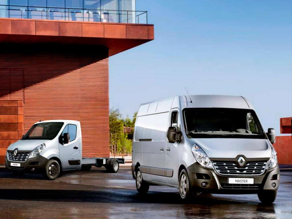 Renault Master Chassis Cabina