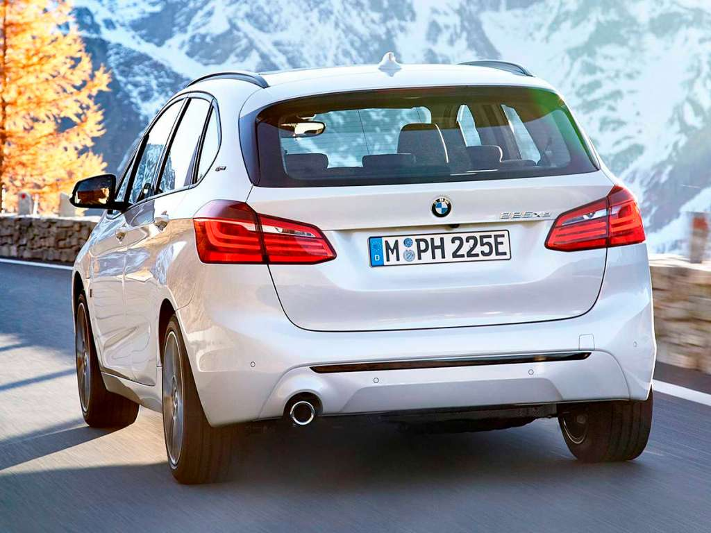 Galería de fotos del BMW Serie 2 Active Tourer Híbrido Enchufable (2)