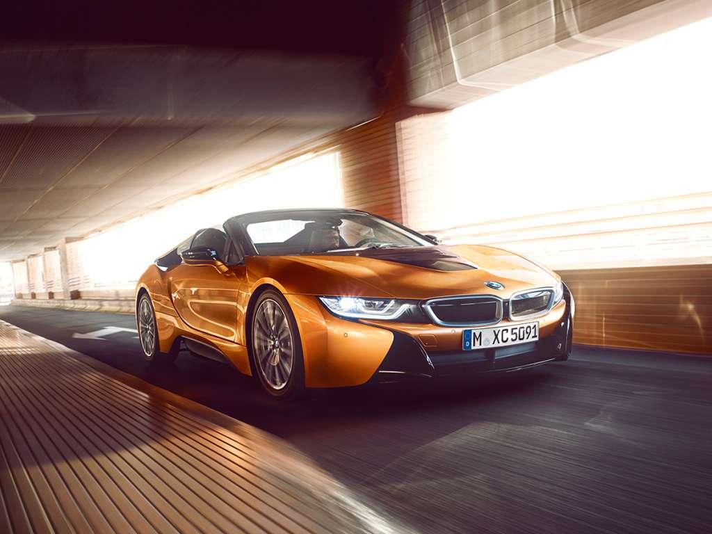 Galería de fotos del BMW i8 Roadster (1)