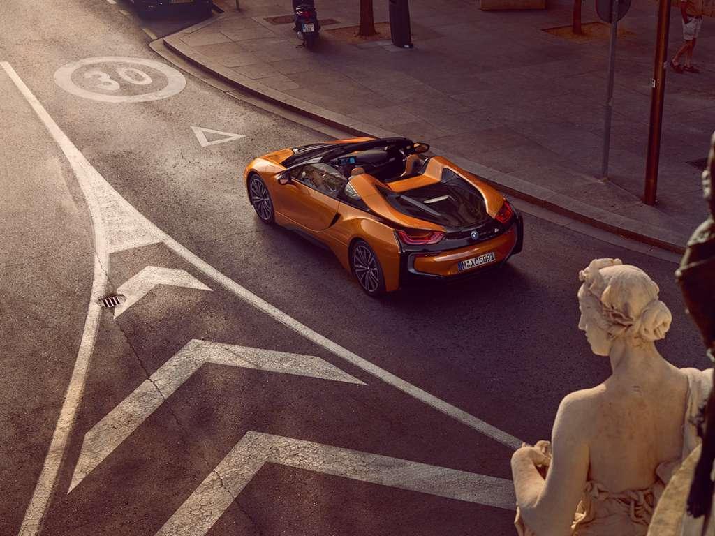 Galería de fotos del BMW i8 Roadster (2)