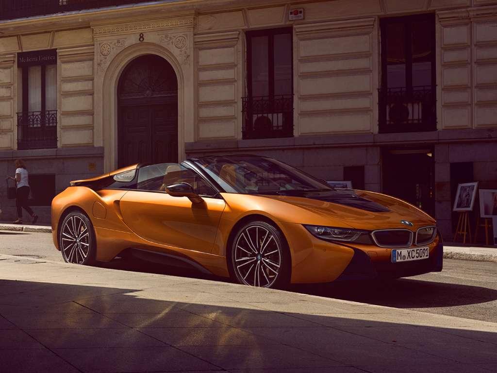 Galería de fotos del BMW i8 Roadster (3)