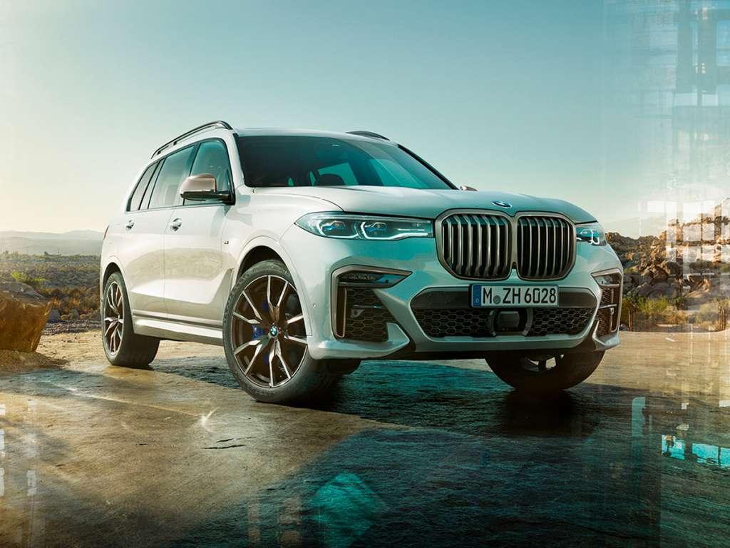 Galería de fotos del BMW X7 M50i (1)