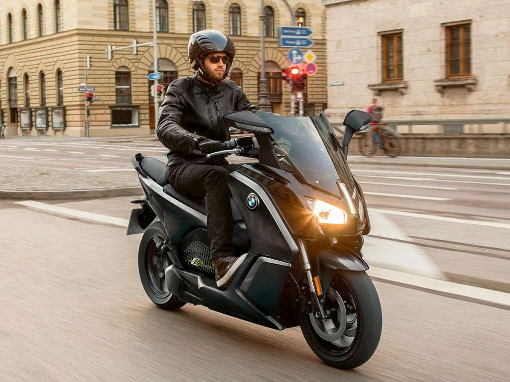 Galería de fotos del BMW Motorrad BMW C Evolution (1)