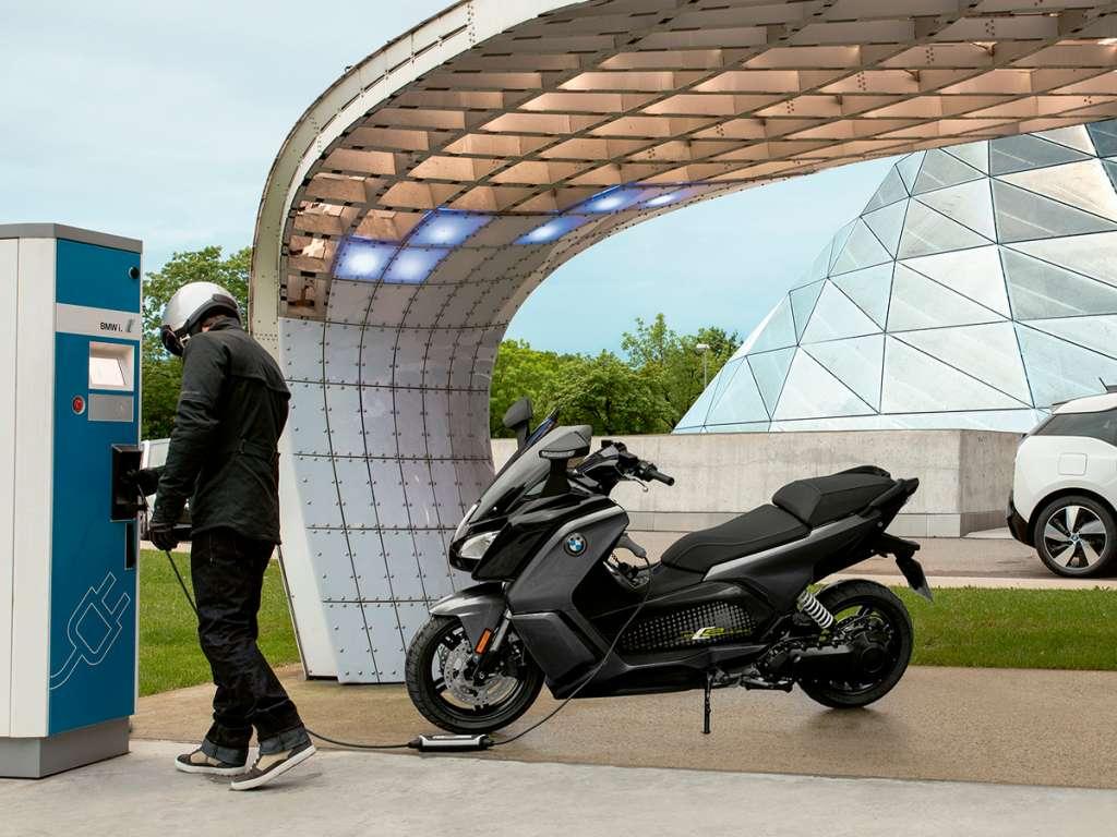 Galería de fotos del BMW Motorrad BMW C Evolution (4)
