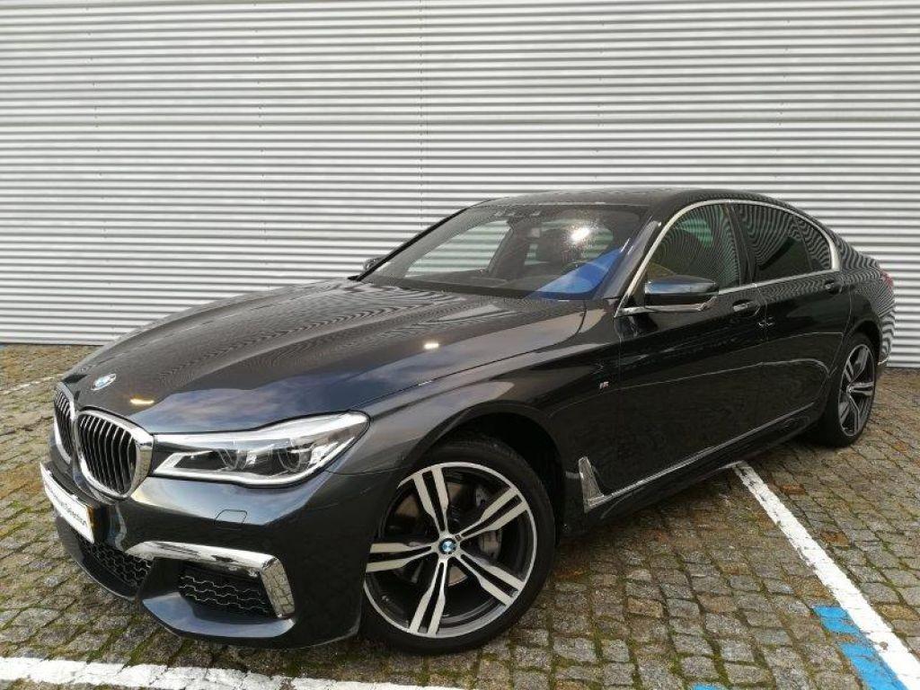 BMW Serie 7 740d xDrive segunda mão Porto