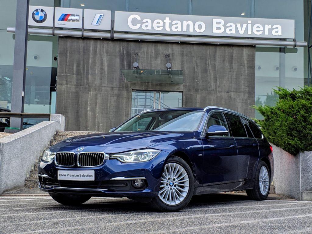 BMW Serie 3 318d Touring Auto Line Luxury segunda mão Lisboa