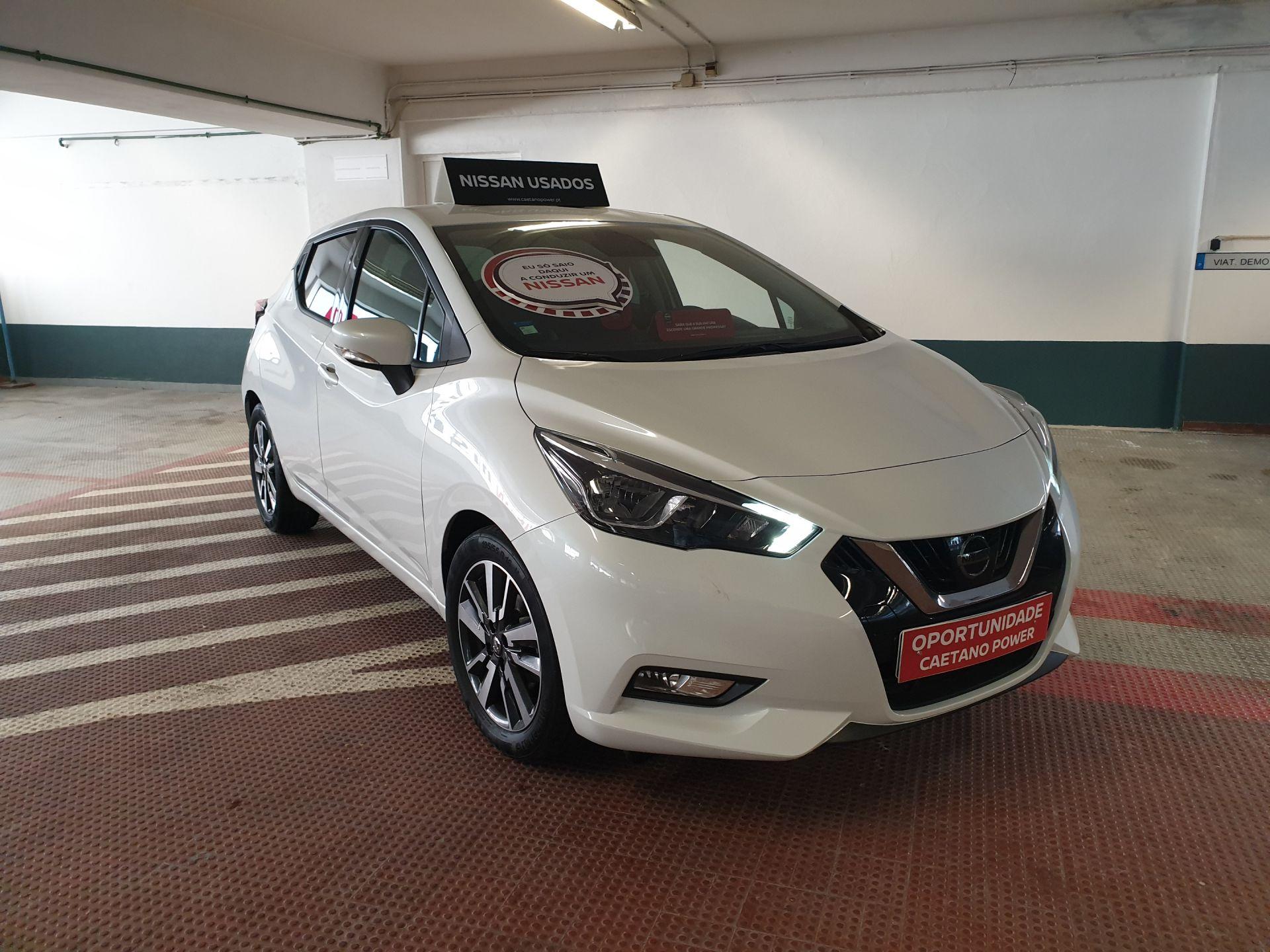 Nissan Micra 1.5dCi 66 kW (90 CV) S&Acenta segunda mão Lisboa