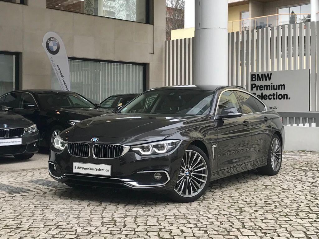BMW Serie 4 420d Gran Coupe Auto Line Luxury segunda mão Lisboa