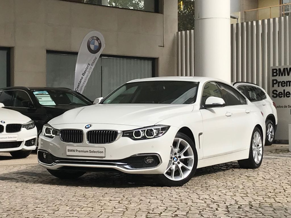 BMW Serie 4 420d Gran Coupe LUXURY segunda mão Lisboa