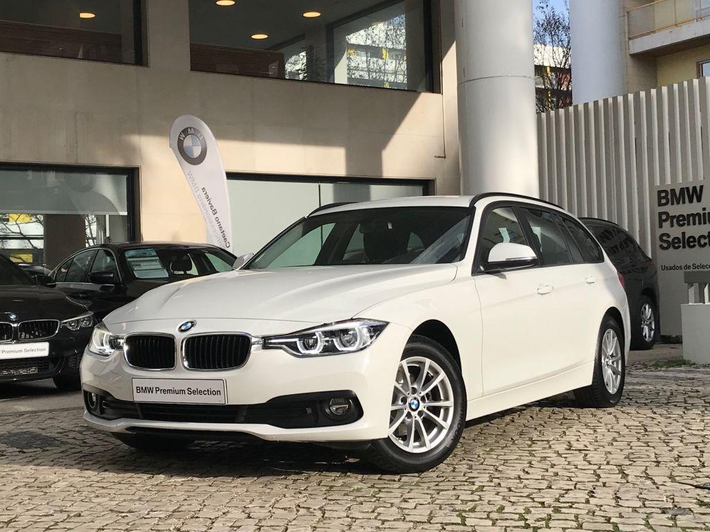 BMW Serie 3 318d Touring Advantage segunda mão Lisboa