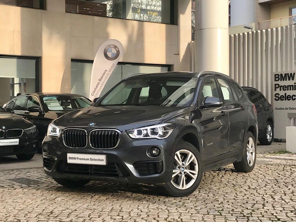 BMW X1 sDrive20d Auto Line Sport Nav Plus usada Lisboa