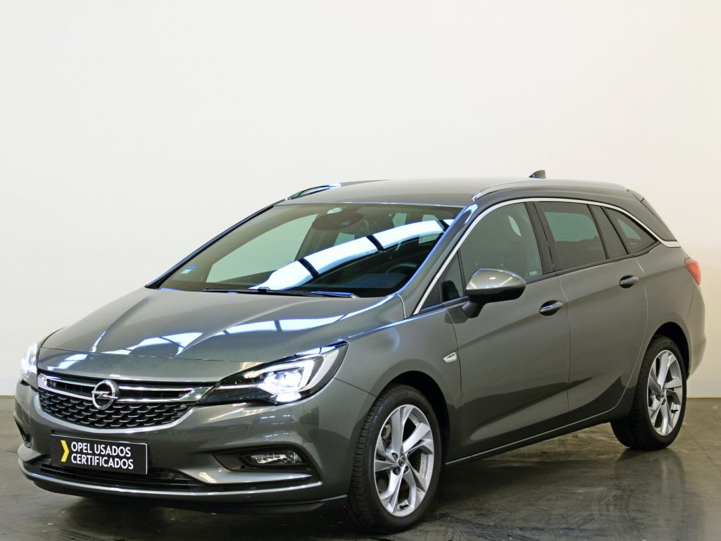 Opel Astra 1.6 Turbo D 136cv S/Dynamic Sport ST usada Porto
