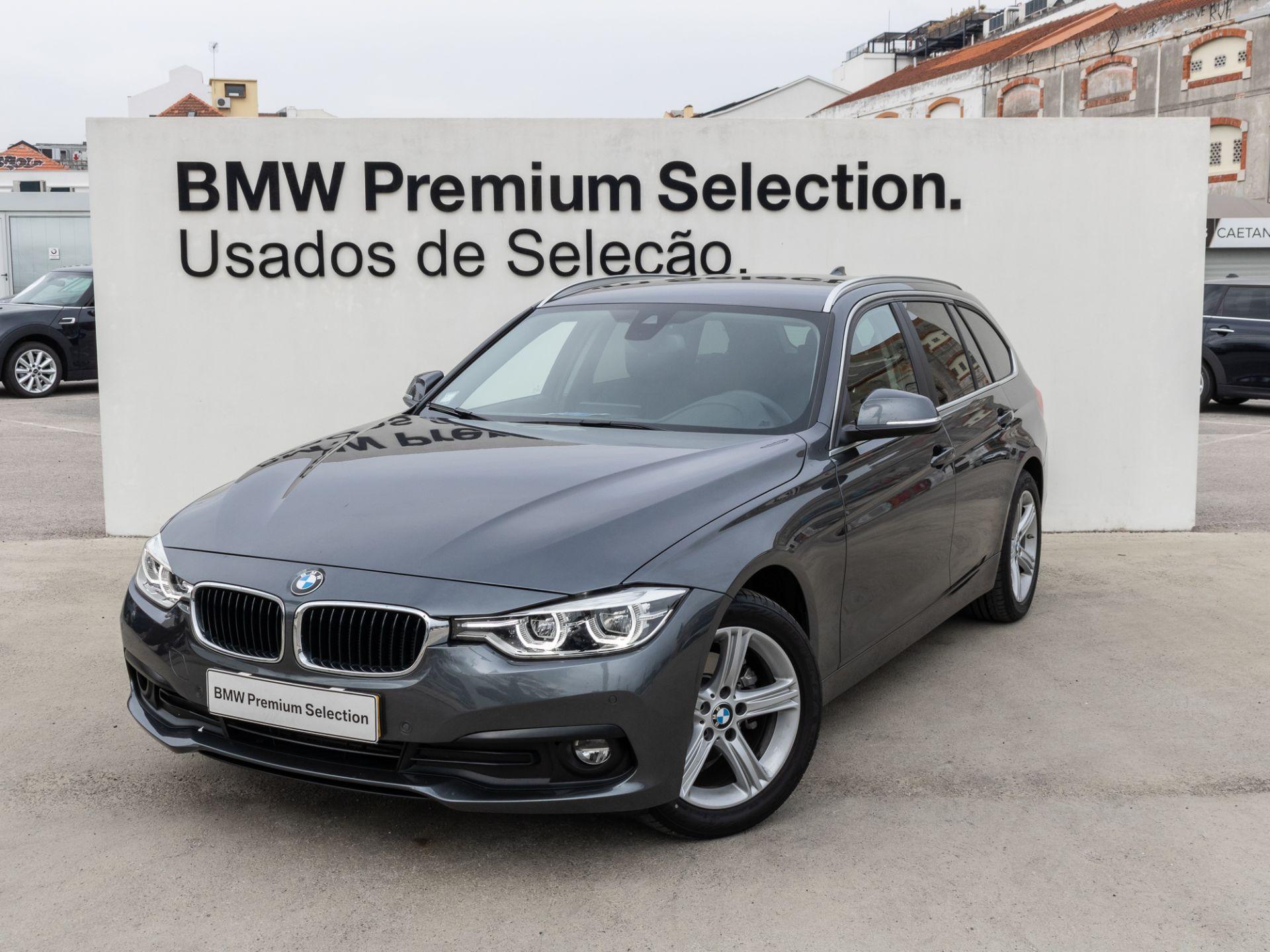 BMW Serie 3 318d Touring, Connectivity, Pele, Assist Conução segunda mão Lisboa