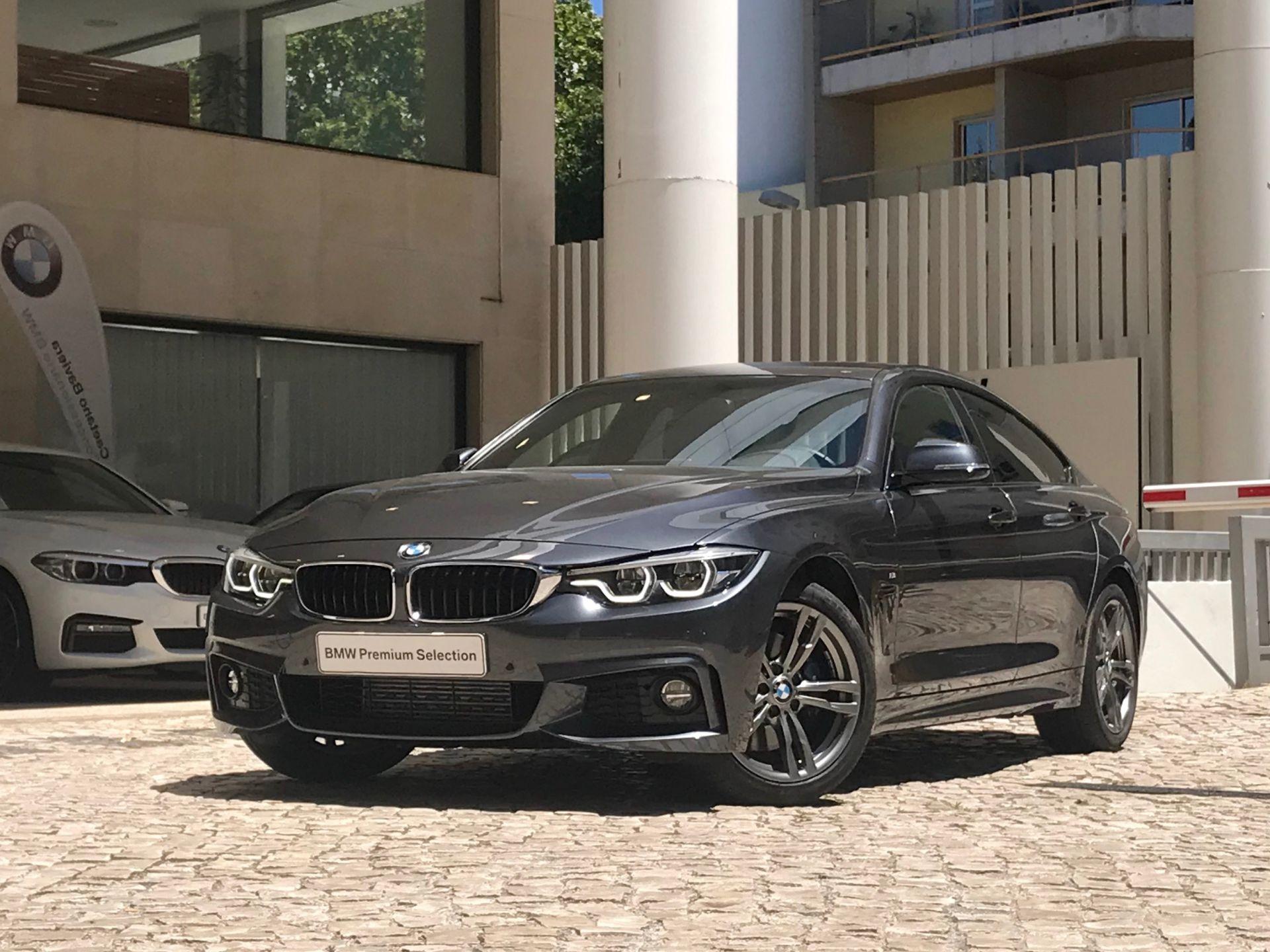 BMW Serie 4 420d Gran Coupe Pack M Auto segunda mão Lisboa