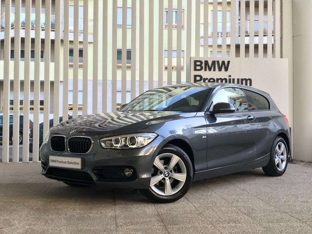 BMW Serie 1 116d Auto Line Sport segunda mão Lisboa