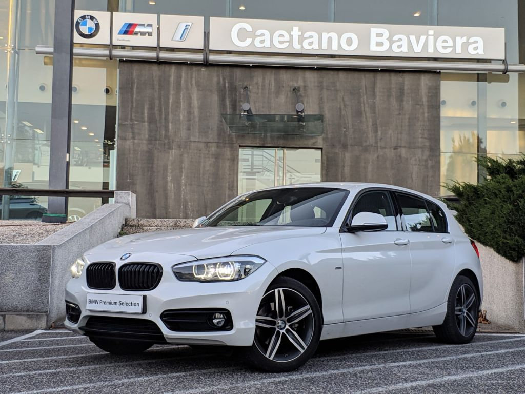 BMW Serie 1 116d Line Sport Shadow segunda mão Lisboa