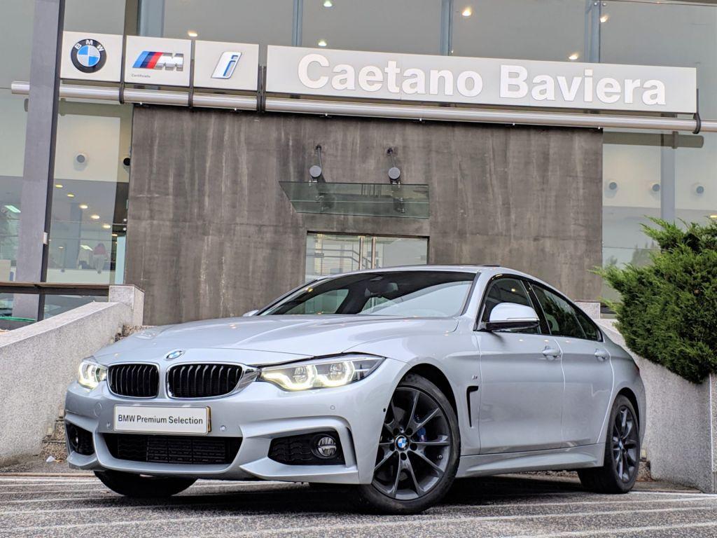 BMW Serie 4 420d Gran Coupe Pack M segunda mão Lisboa