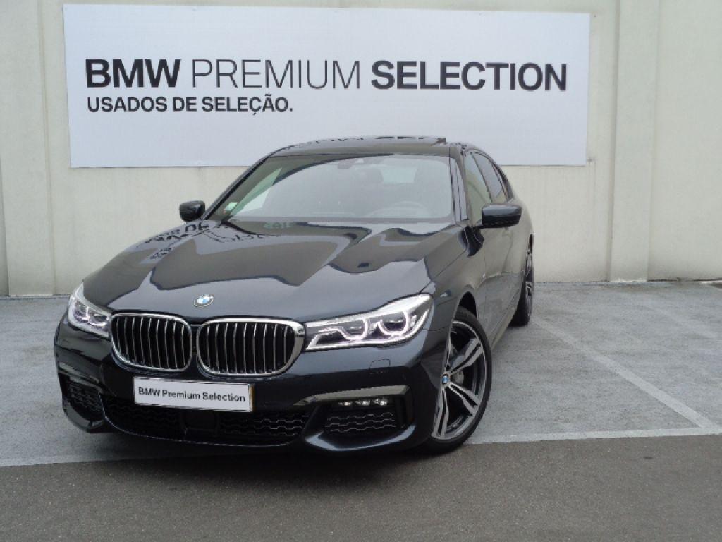 BMW Serie 7 740d xDrive Pack M segunda mão Porto