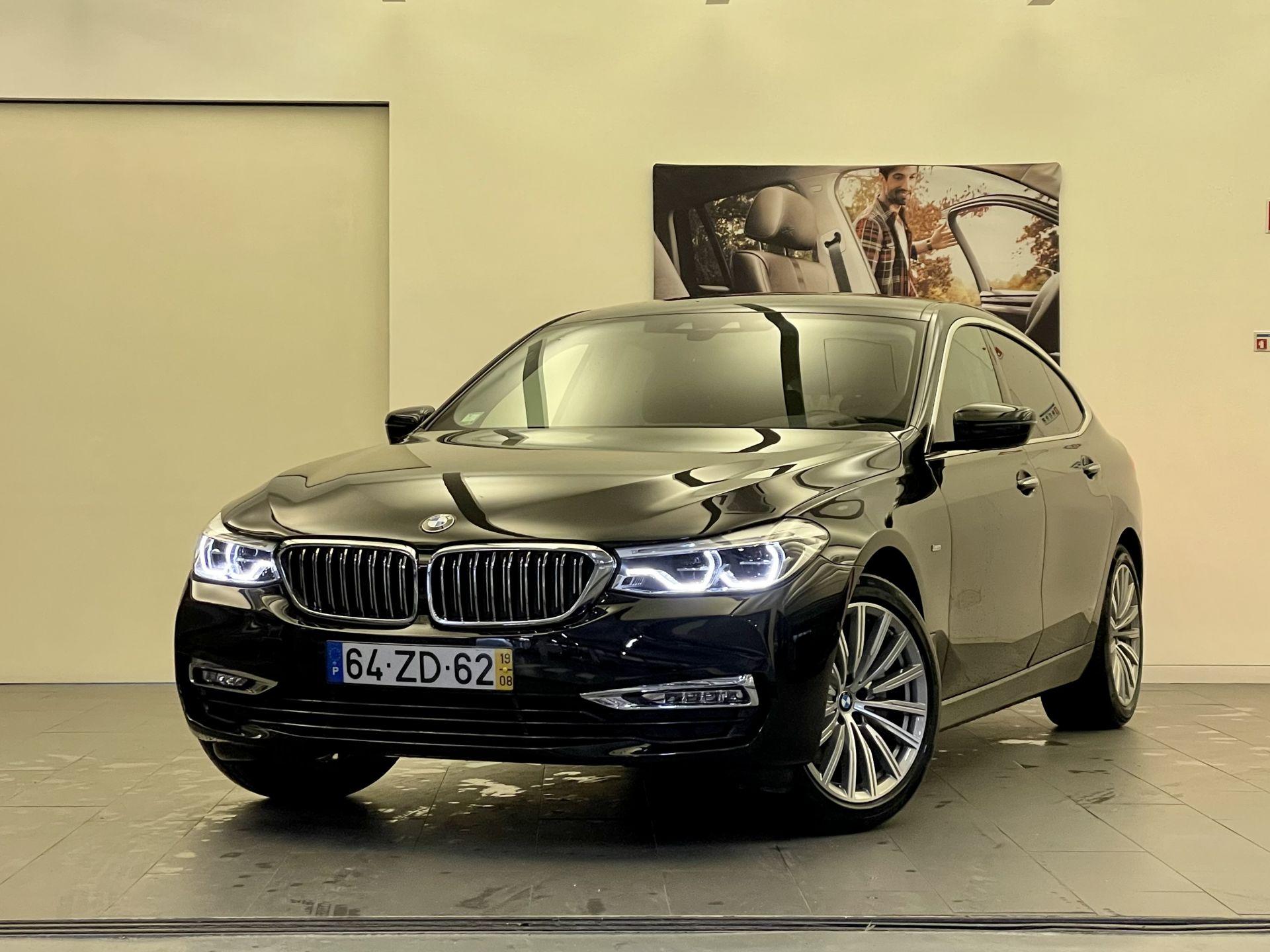 BMW Serie 6 630d Gran Turismo Auto Luxury line segunda mão Lisboa