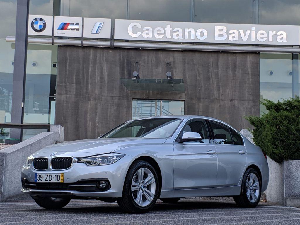 BMW Serie 3 318d Auto Line Sport  segunda mão Lisboa