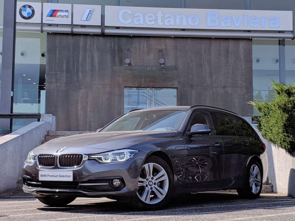 BMW Serie 3 318d Touring Auto Line Sport segunda mão Lisboa