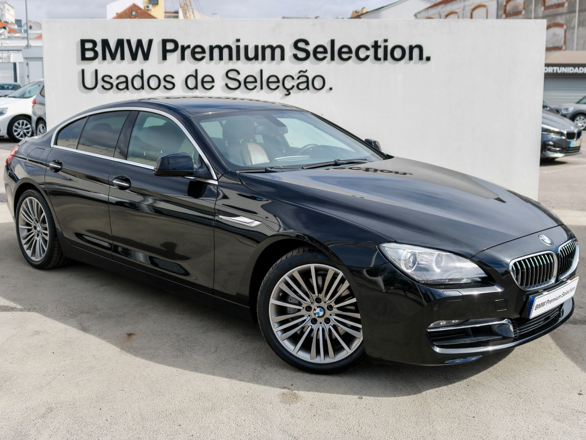 BMW Serie 6 640d xDrive Gran Coupe segunda mão Lisboa