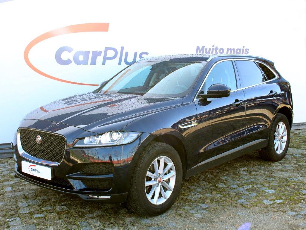 Jaguar F-Pace 2.0L iD4 Prestige segunda mão Lisboa