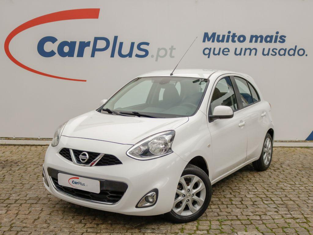 Nissan Micra 1.2 80cv Acenta CVT segunda mão Lisboa