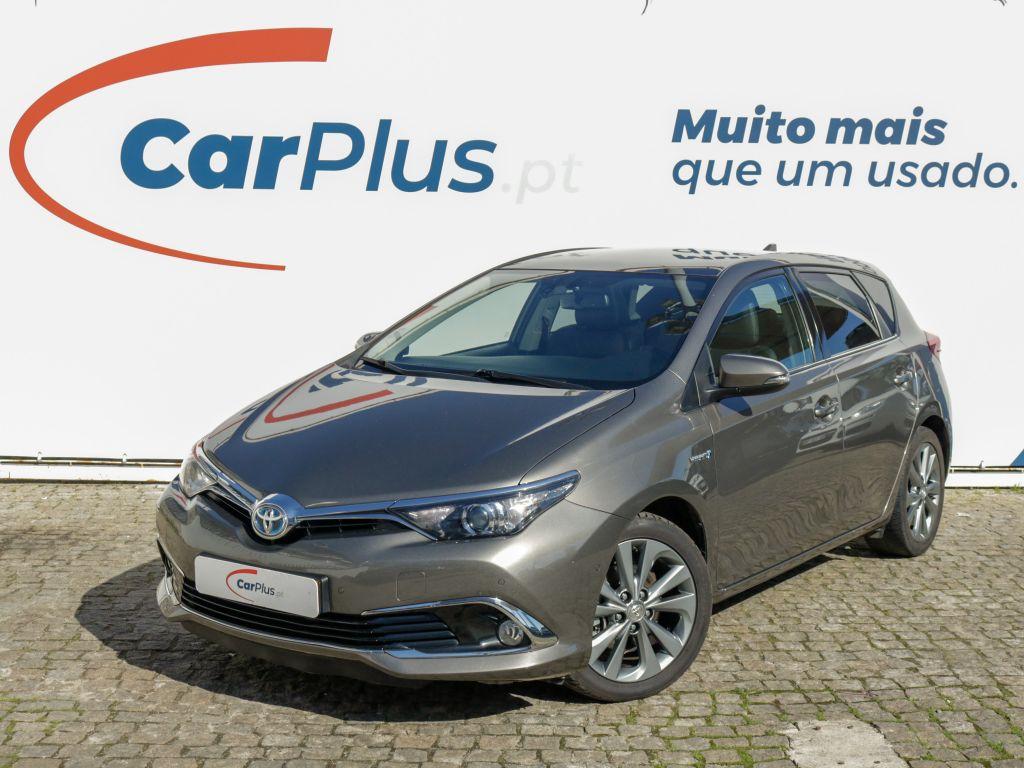 Toyota Auris 1.8 Híbrido Exclusive Navi CVT segunda mão Lisboa