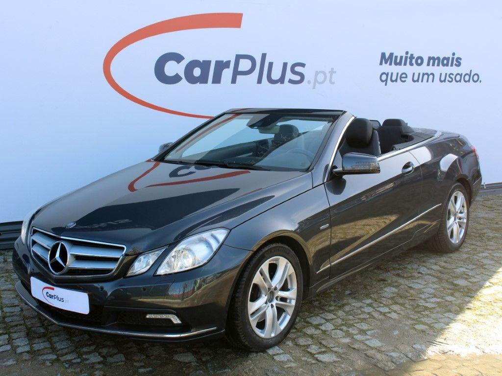 Mercedes Benz Classe E Cabrio 350 CDI BlueEfficiency Auto segunda mão Porto