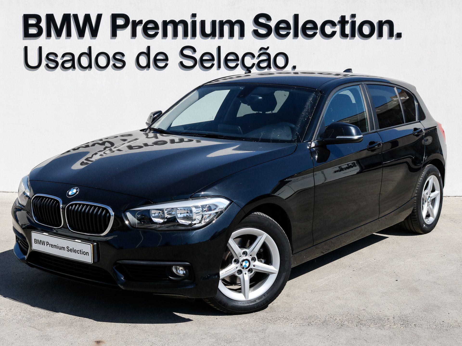 BMW Serie 1 116d Auto Advantage LED segunda mão Lisboa