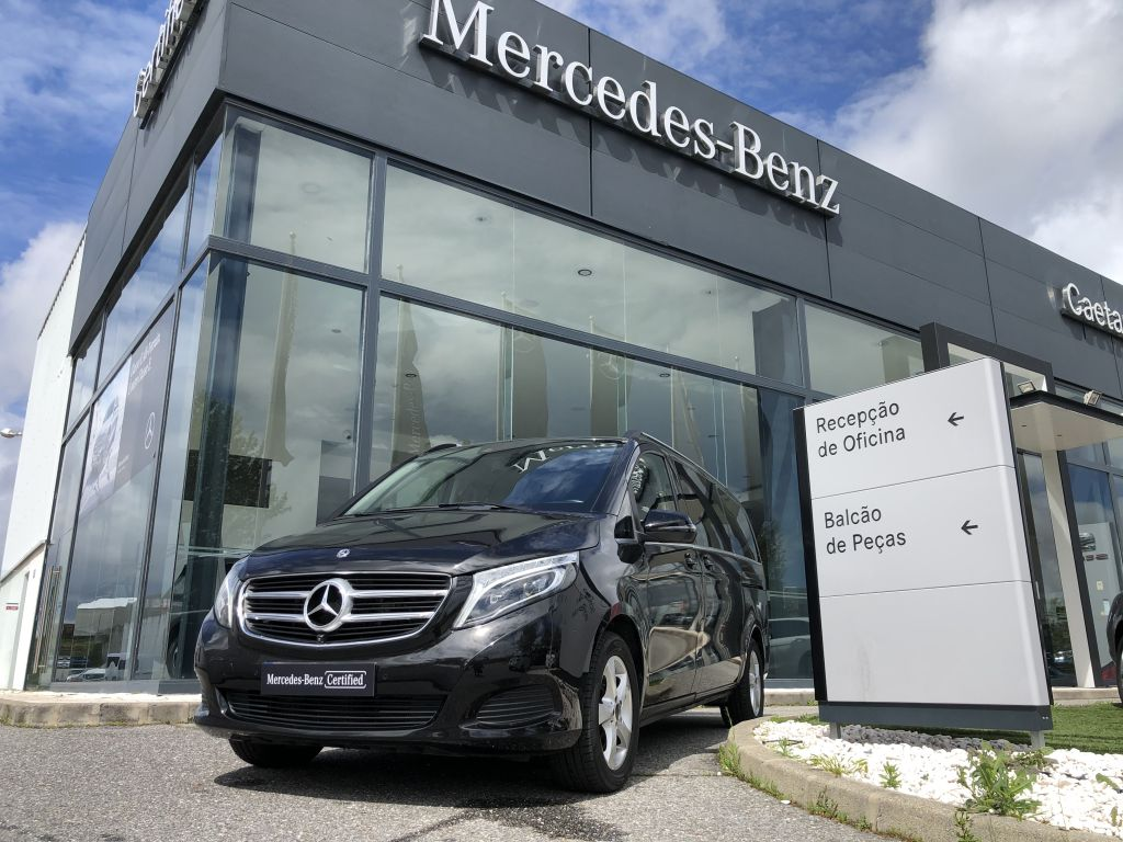 Mercedes Benz V-Class 250 D AVANTGARDSTANDARD segunda mão Castelo Branco