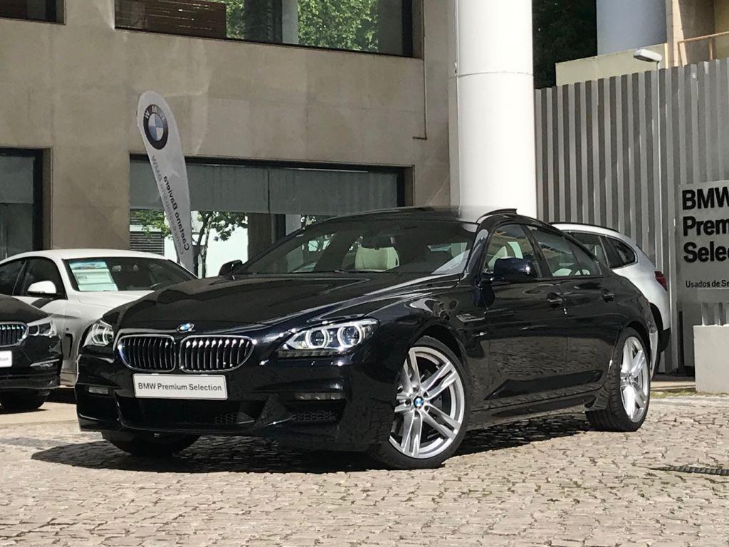 BMW Serie 6 640d Gran Coupe Pack M segunda mão Lisboa