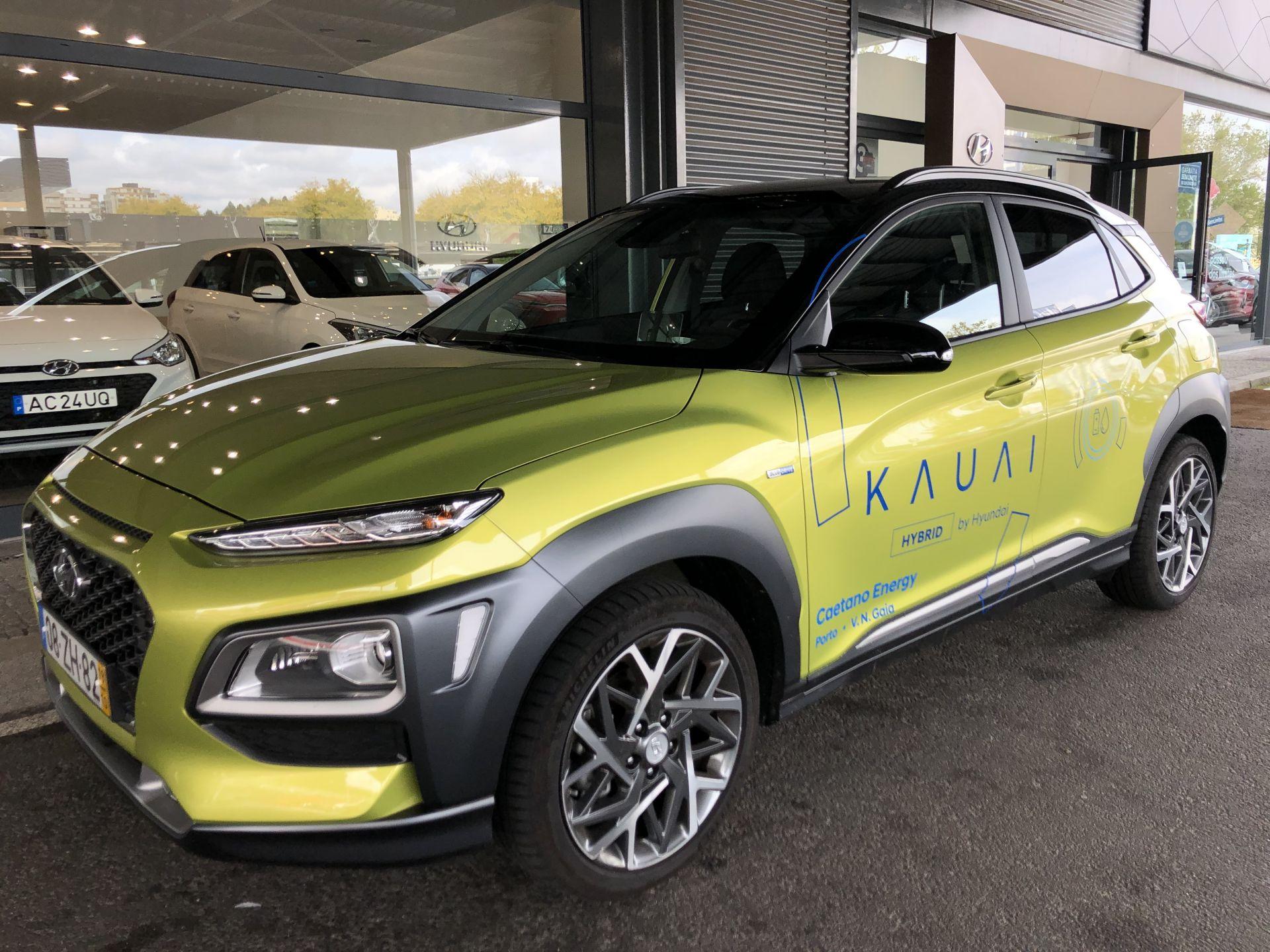 Hyundai Kauai HEV 1.6 GDi Premium MY20 + Navi + Vision  segunda mão Porto