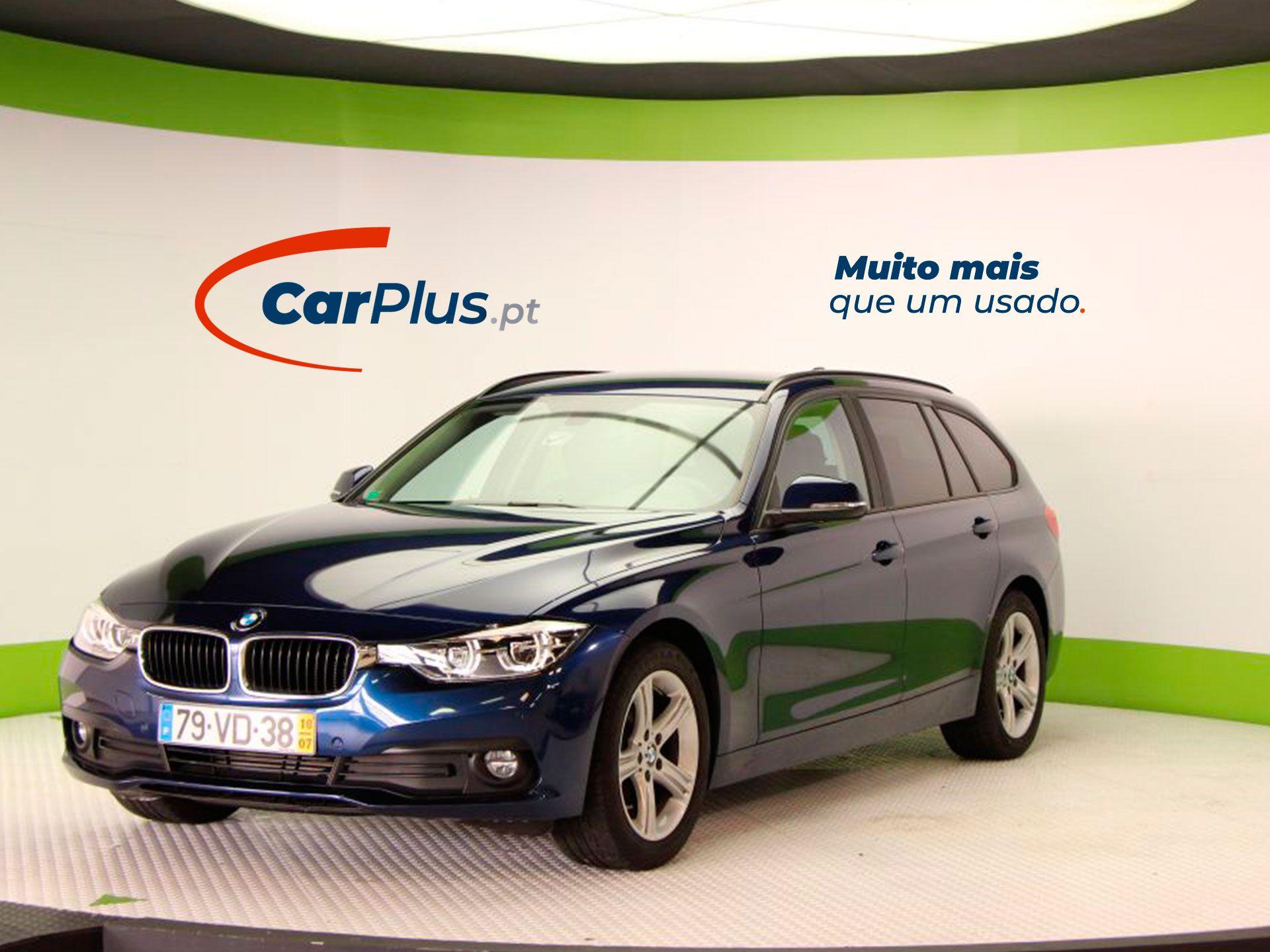 BMW Serie 3 318d Auto Touring Advantage segunda mão Braga