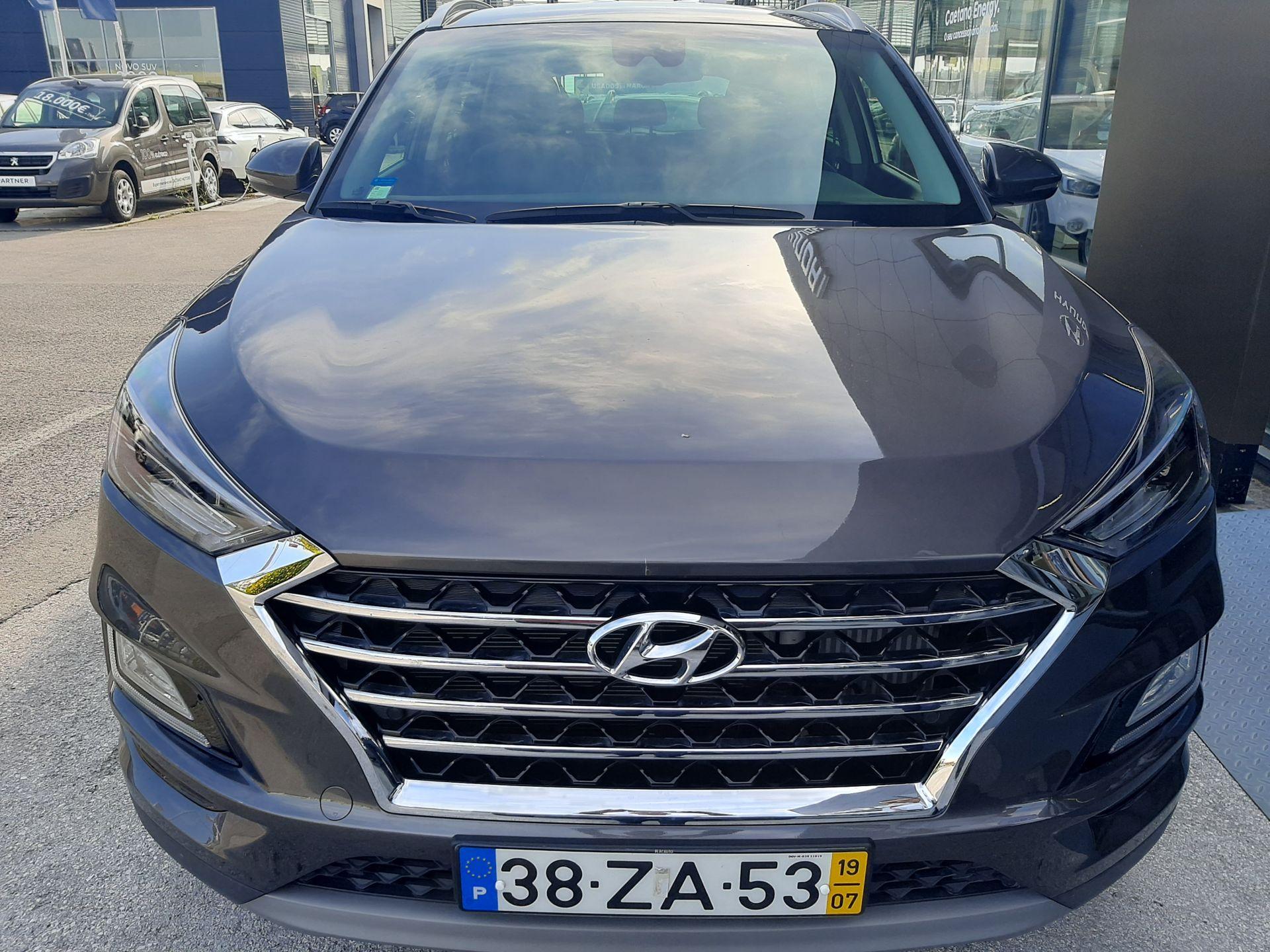 Hyundai Tucson 1.6 CRDi Premium+Pack Pele+Pack Style usada Setúbal