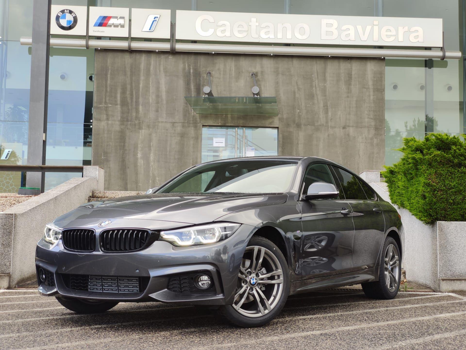 BMW Serie 4 420d Gran Coupe Auto Pack M segunda mão Lisboa