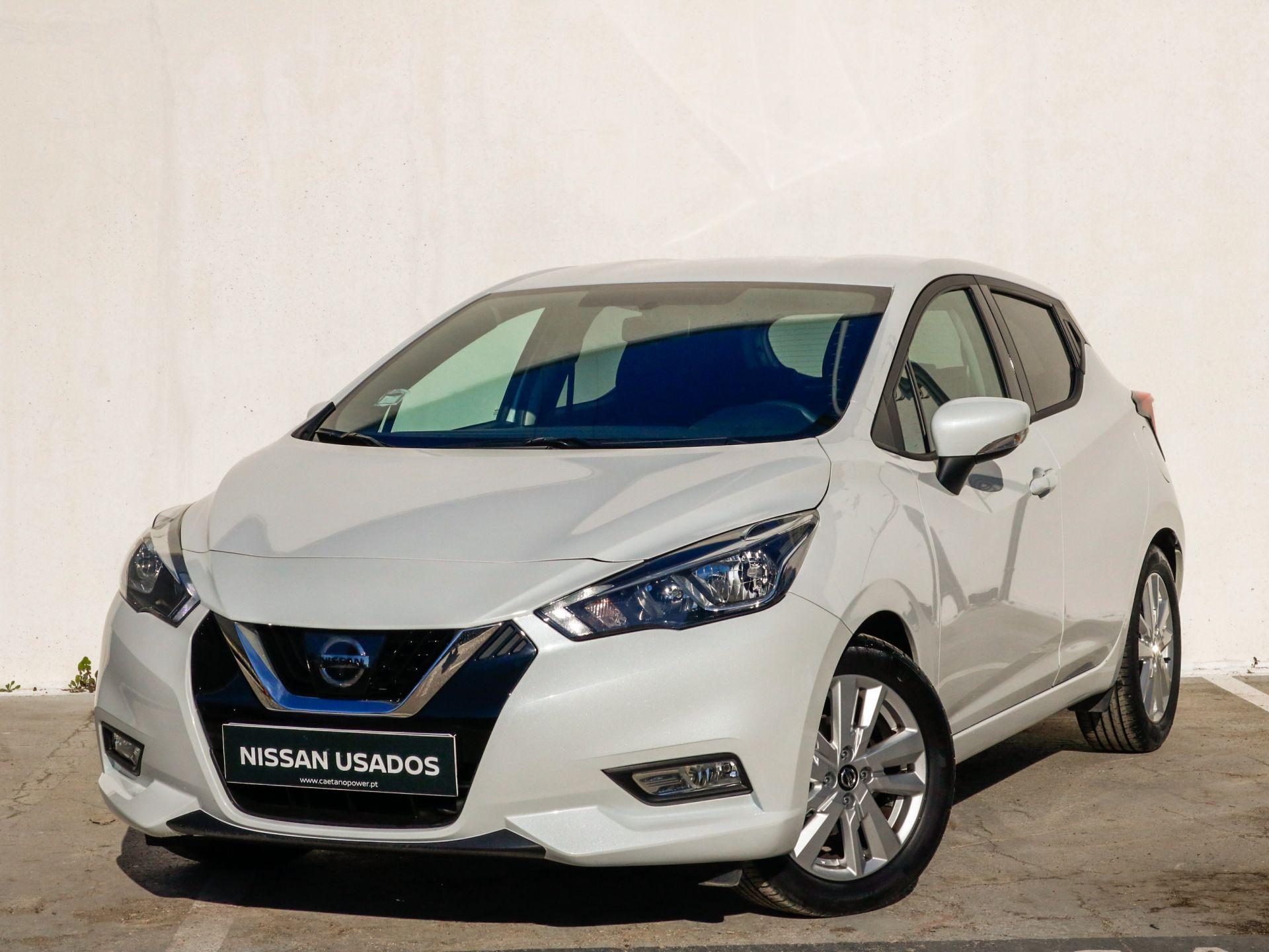 Nissan Micra 1.052 kW (70 CV) E6Acenta segunda mão Setúbal