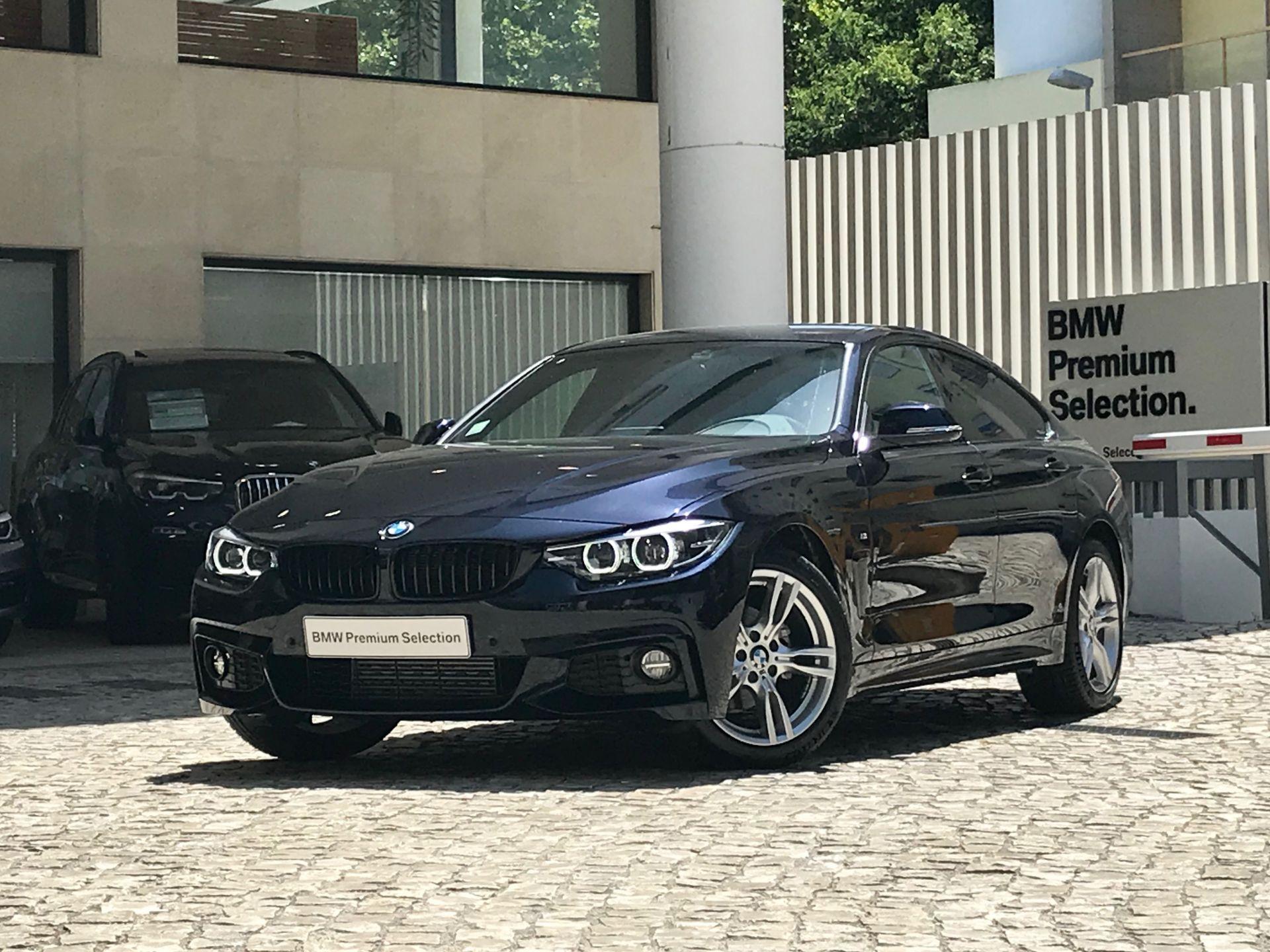 BMW Serie 4 418d Gran Coupe Pack M segunda mão Lisboa
