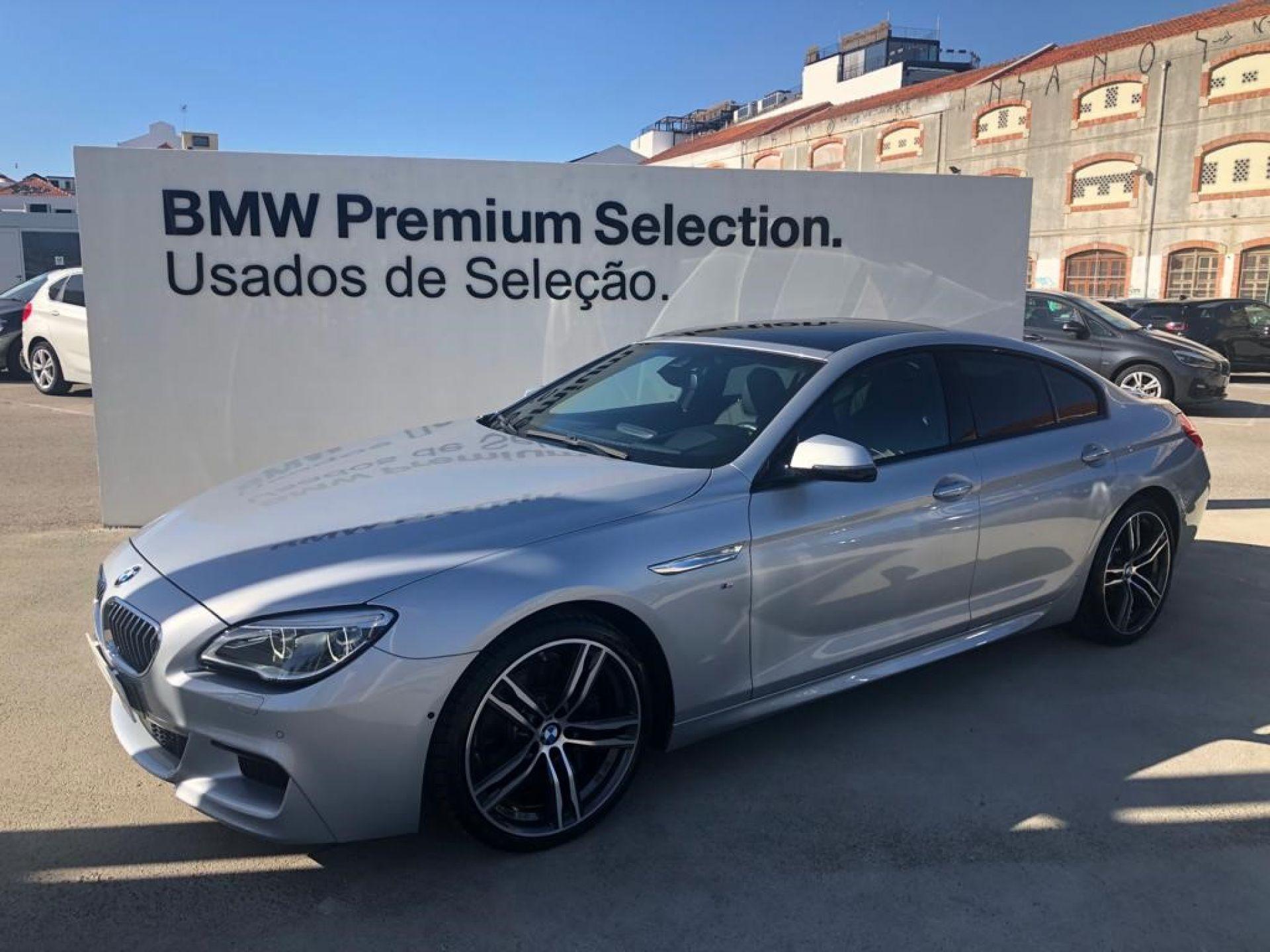 BMW Serie 6 640d Gran Coupe usada Porto