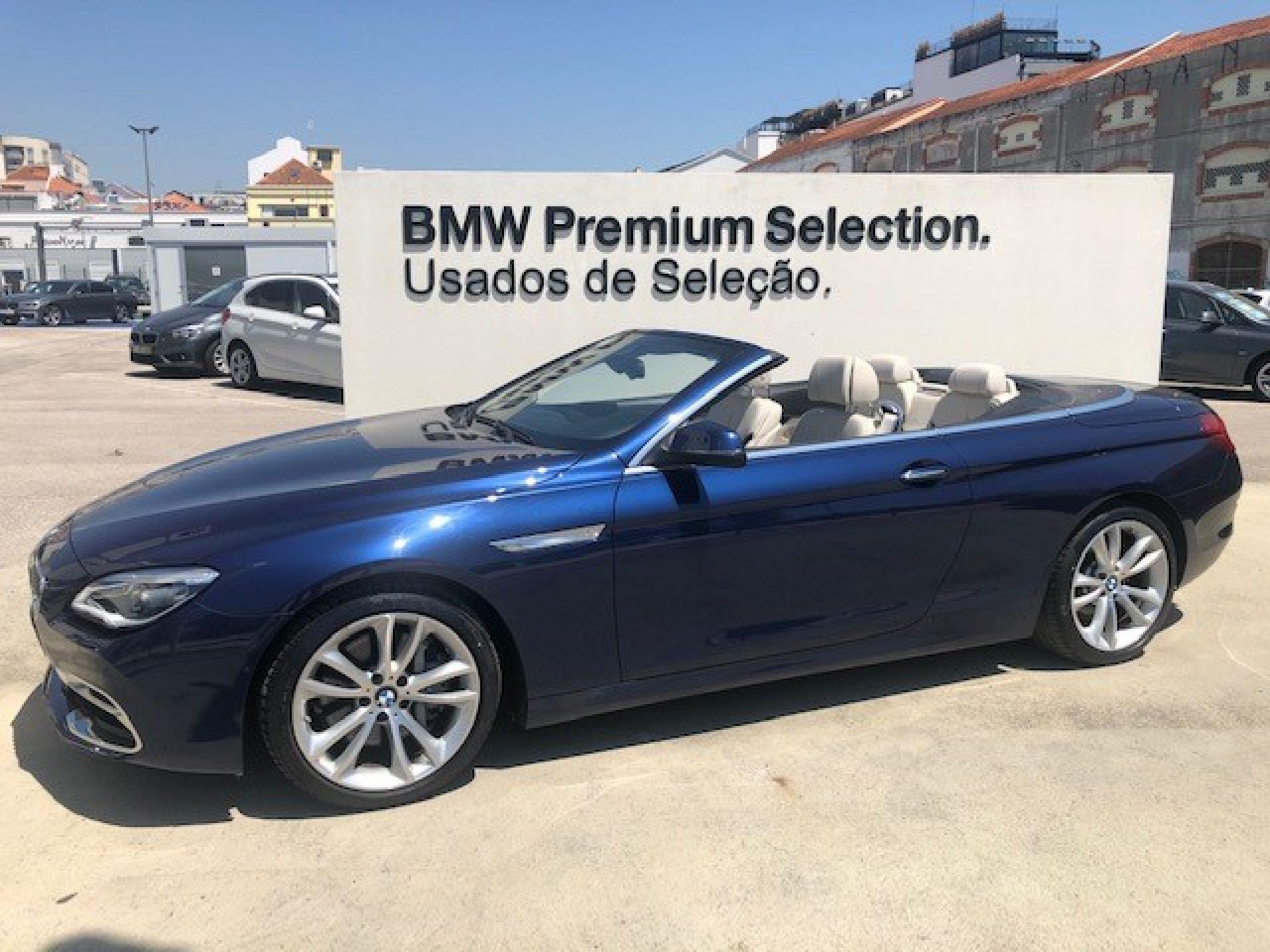 BMW Serie 6 640d Cabrio Auto segunda mão Lisboa